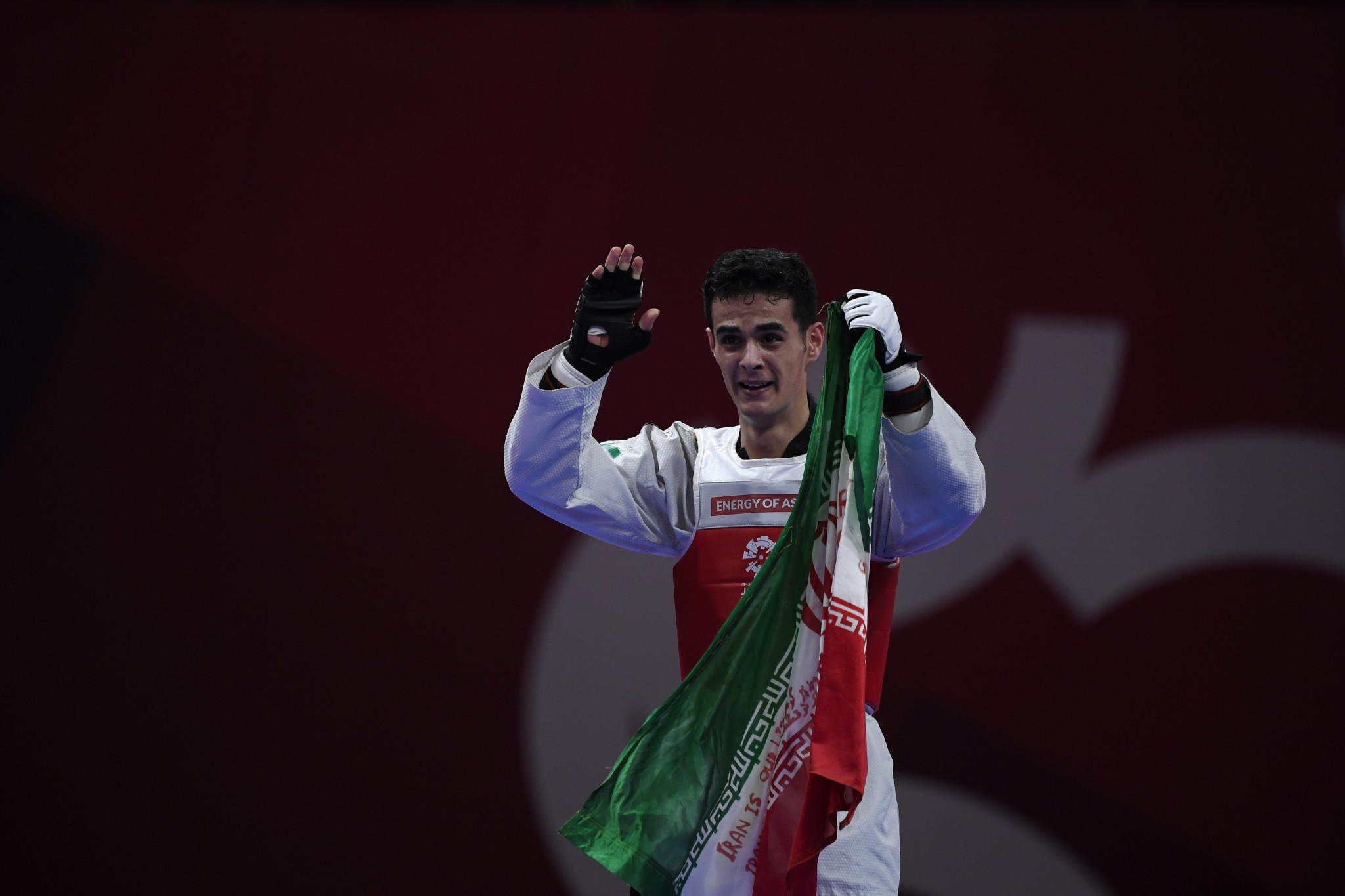 Mirhashem Hosseini is one of two Iranian taekwondo players to have already qualified for the Olympics ©Getty Images