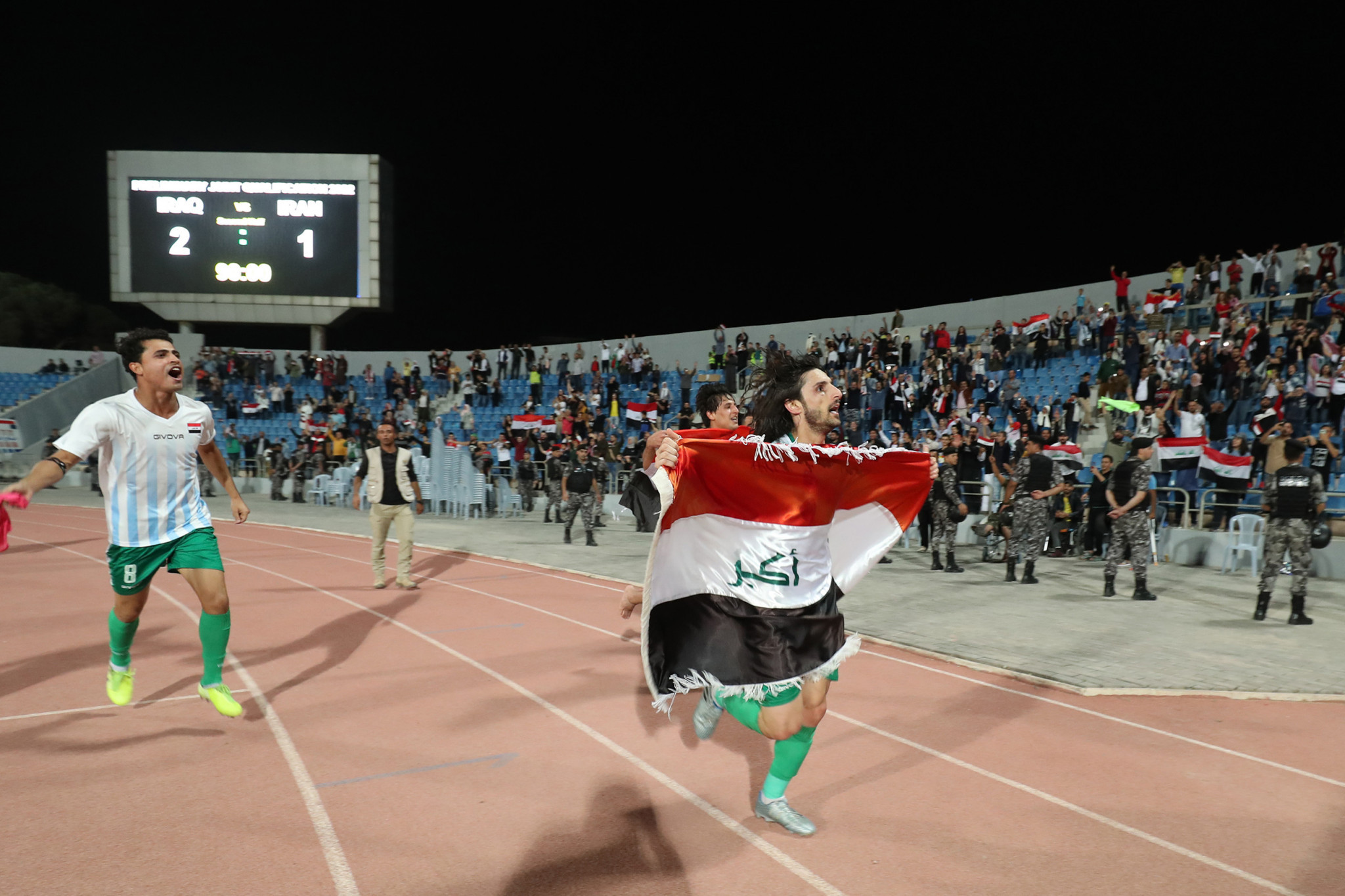 Iraq shocked Iran in their qualifying match in 2019 ©Getty Images