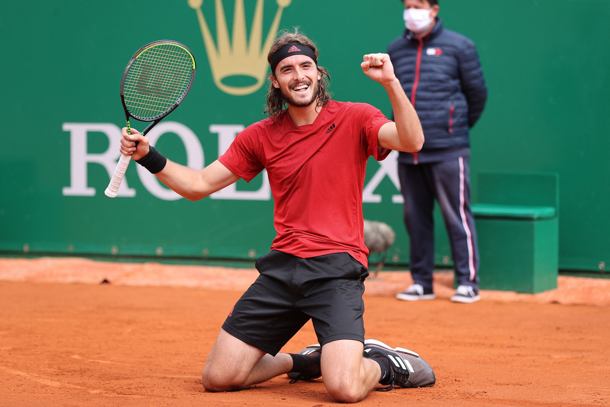 Stefanos Tsitsipas did not drop a set in the entire 2021 Monte-Carlo Masters ©Getty Images