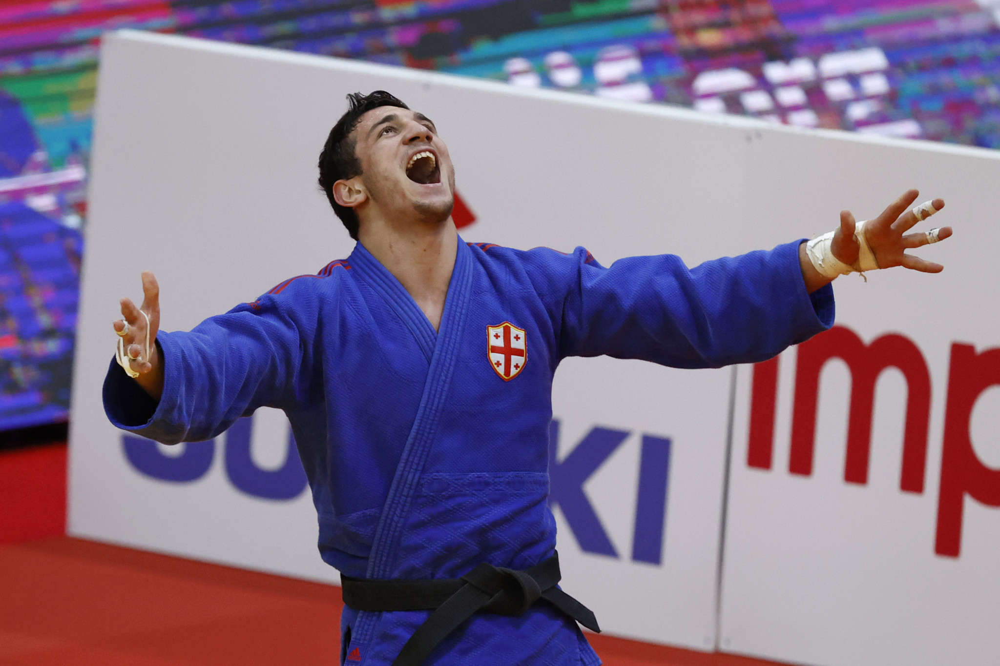 Bekauri beats Georgian rival to win gold on final day of European Judo Championships