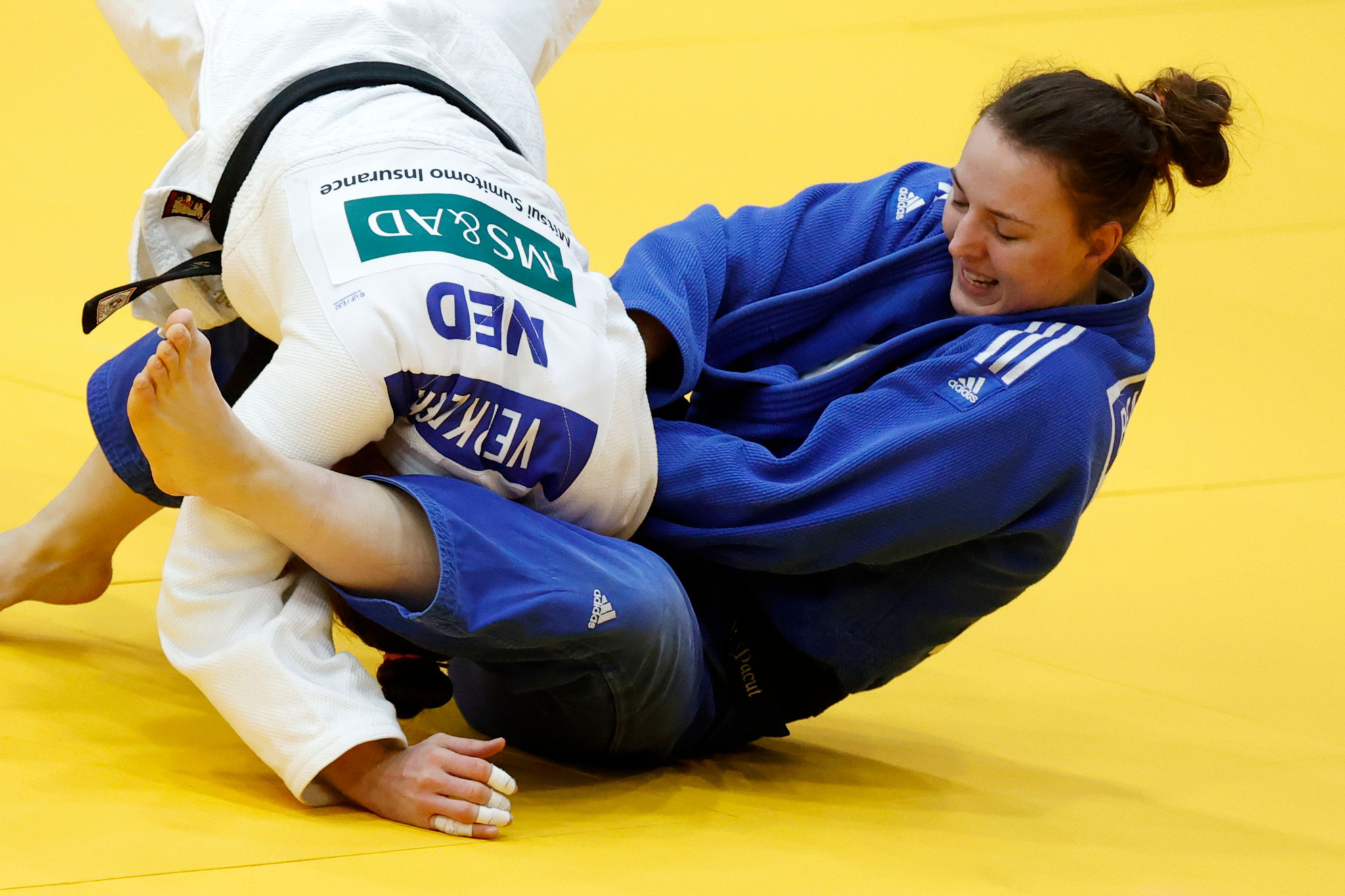 Beata Pacut proved too strong for her rivals in the women's under-75kg division ©Getty Images