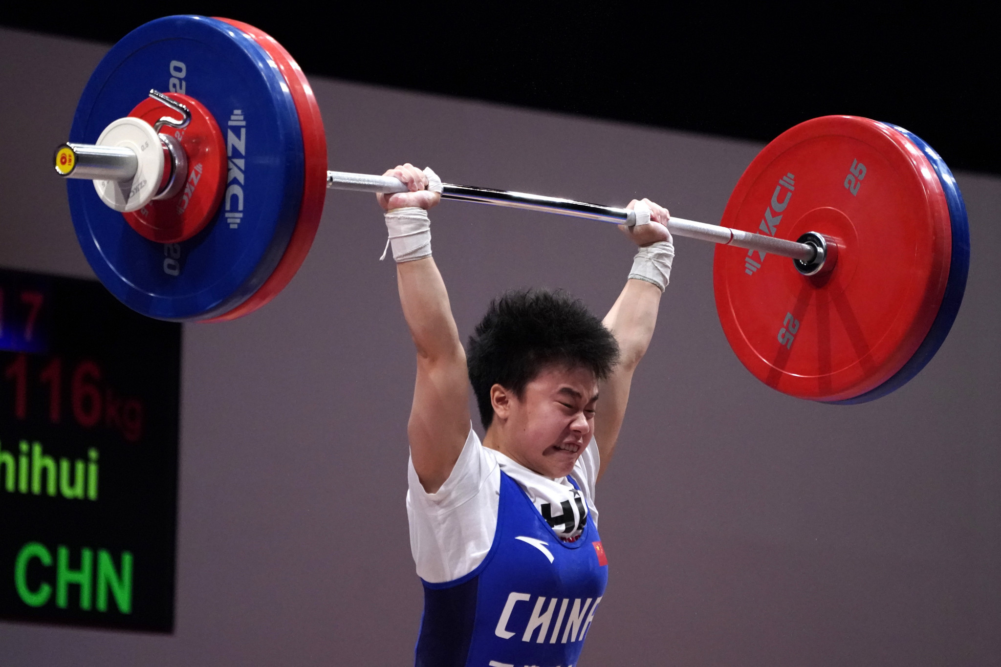 World records for China and India at Asian Weightlifting Championships