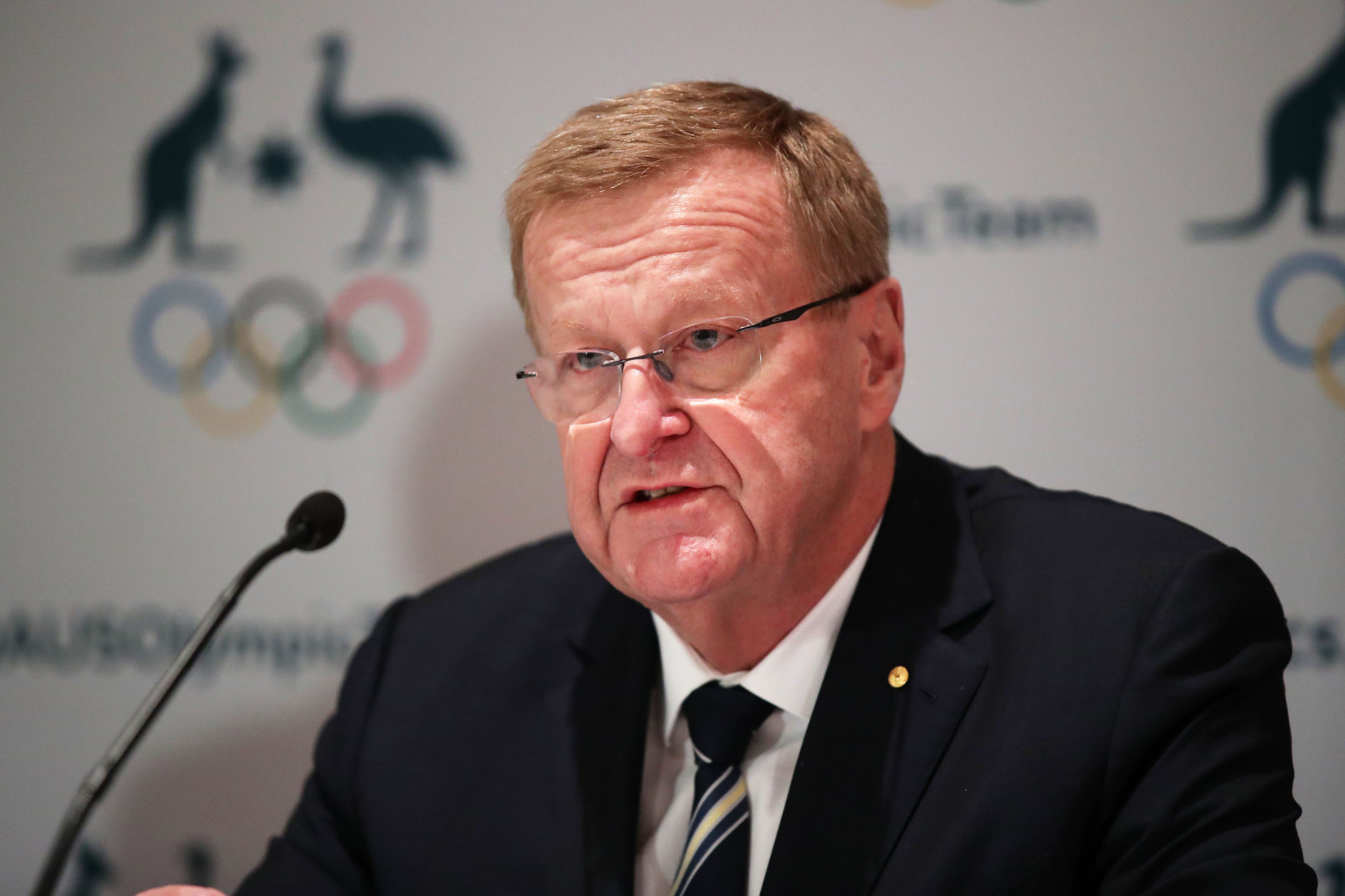 AOC President John Coates took a reduced salary ©Getty Images