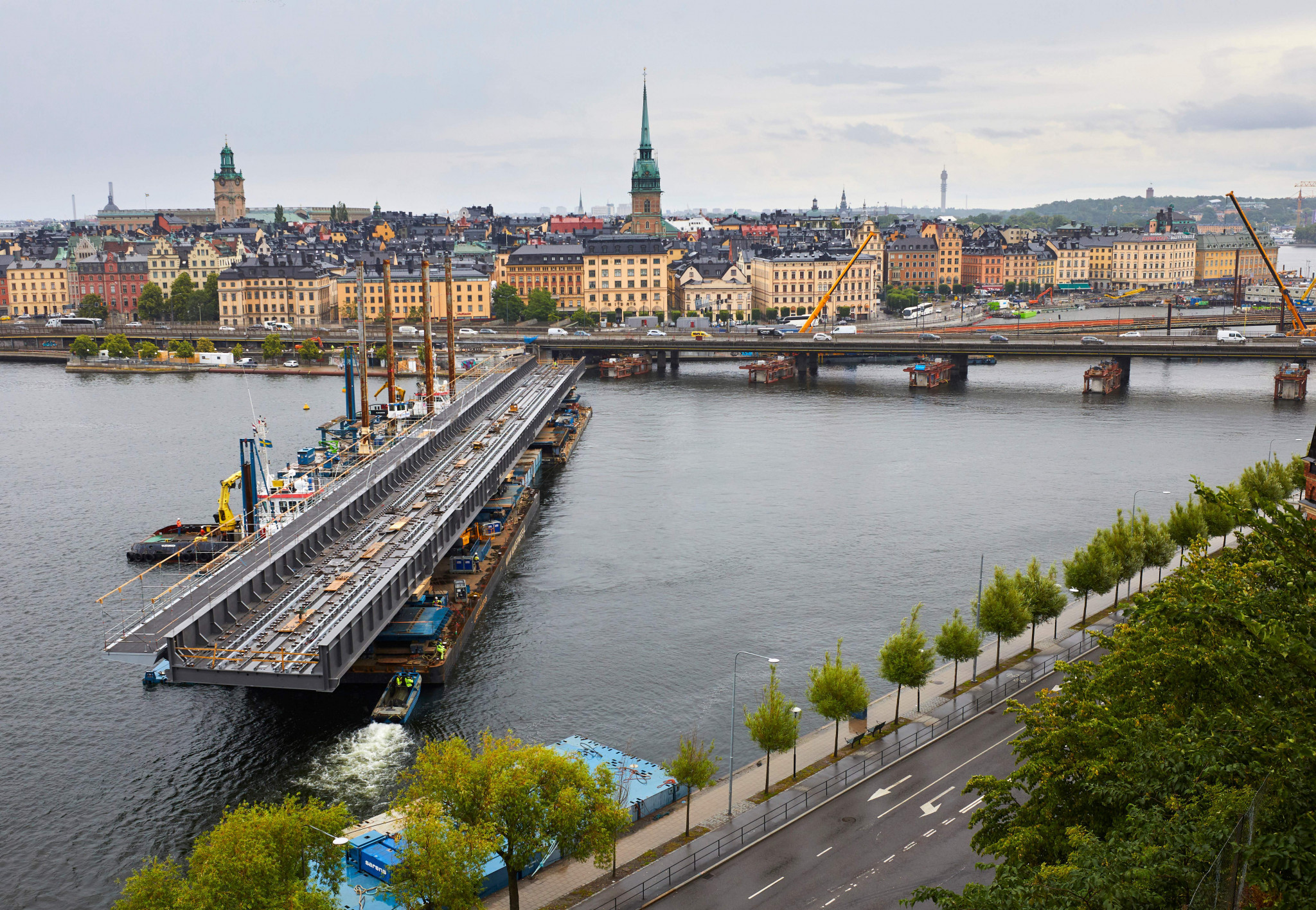 Stockholm is set to host the Euro Challenge Cup in 2022 ©Getty Images