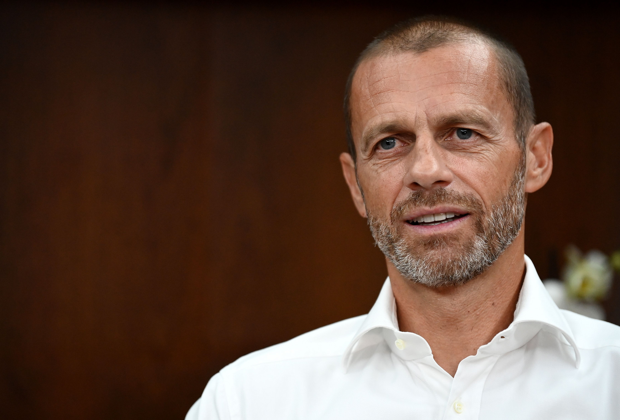 A furious UEFA President Aleksander Čeferin hit out at The Super League today, calling it