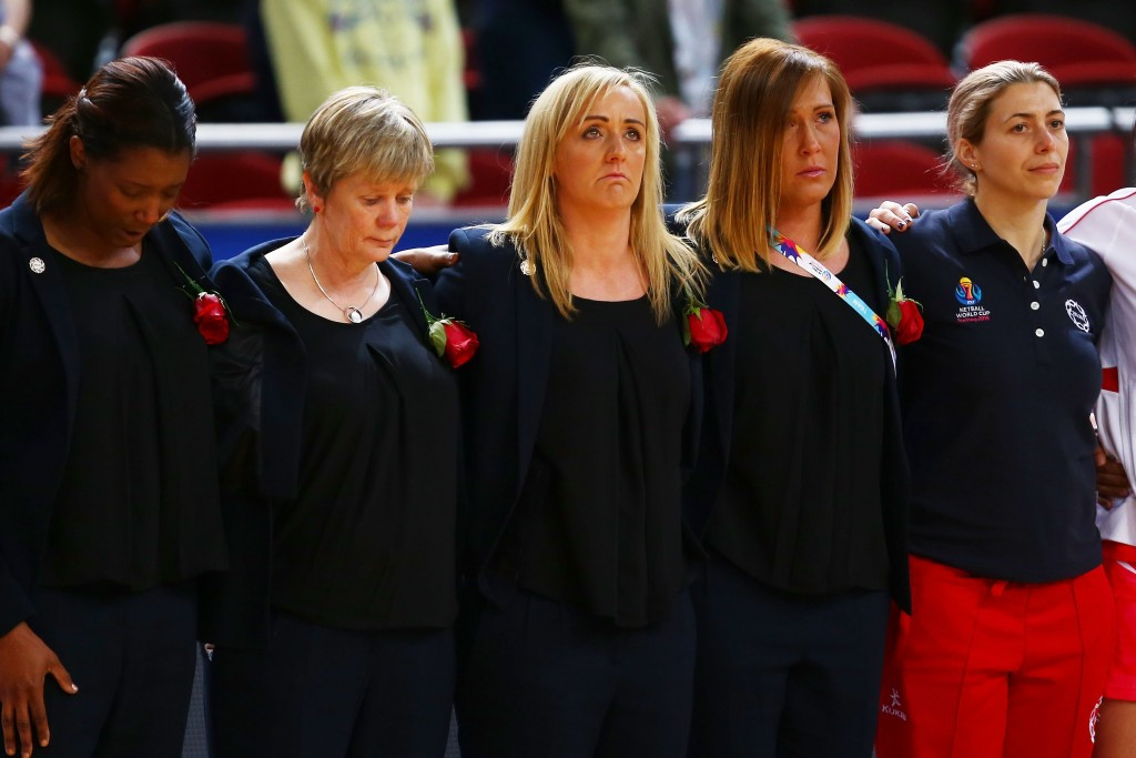 A minutes silence was held ahead of England's bronze medal match with Jamaica at the World Cup in memory of Tracey's late father Neville Neville