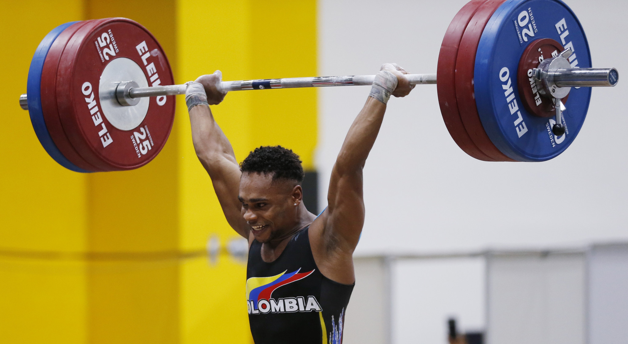 Francisco Mosquera won the first gold medal of the Pan American Championships at an Olympic weight ©Getty Images