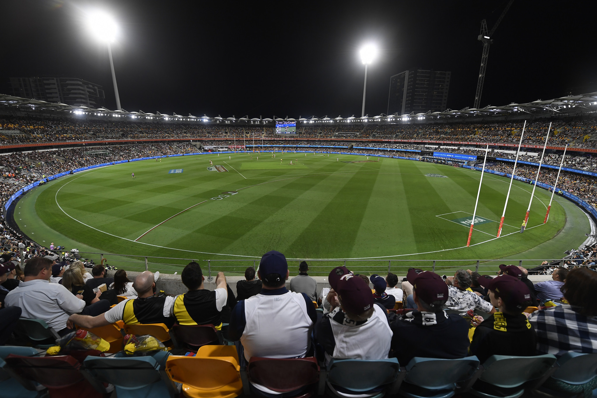 The Gabba is known for sports including cricket, rugby and AFL football ©Getty Images