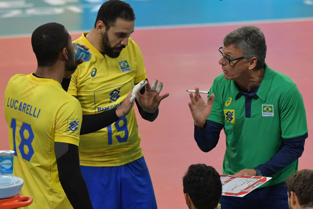 Brazilian men's volleyball head coach on ventilator after contracting COVID-19