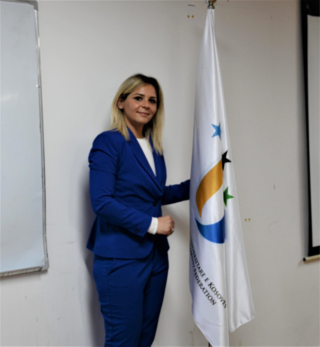 Diellza Kelmendi elected President of University Sports Federation of Kosovo