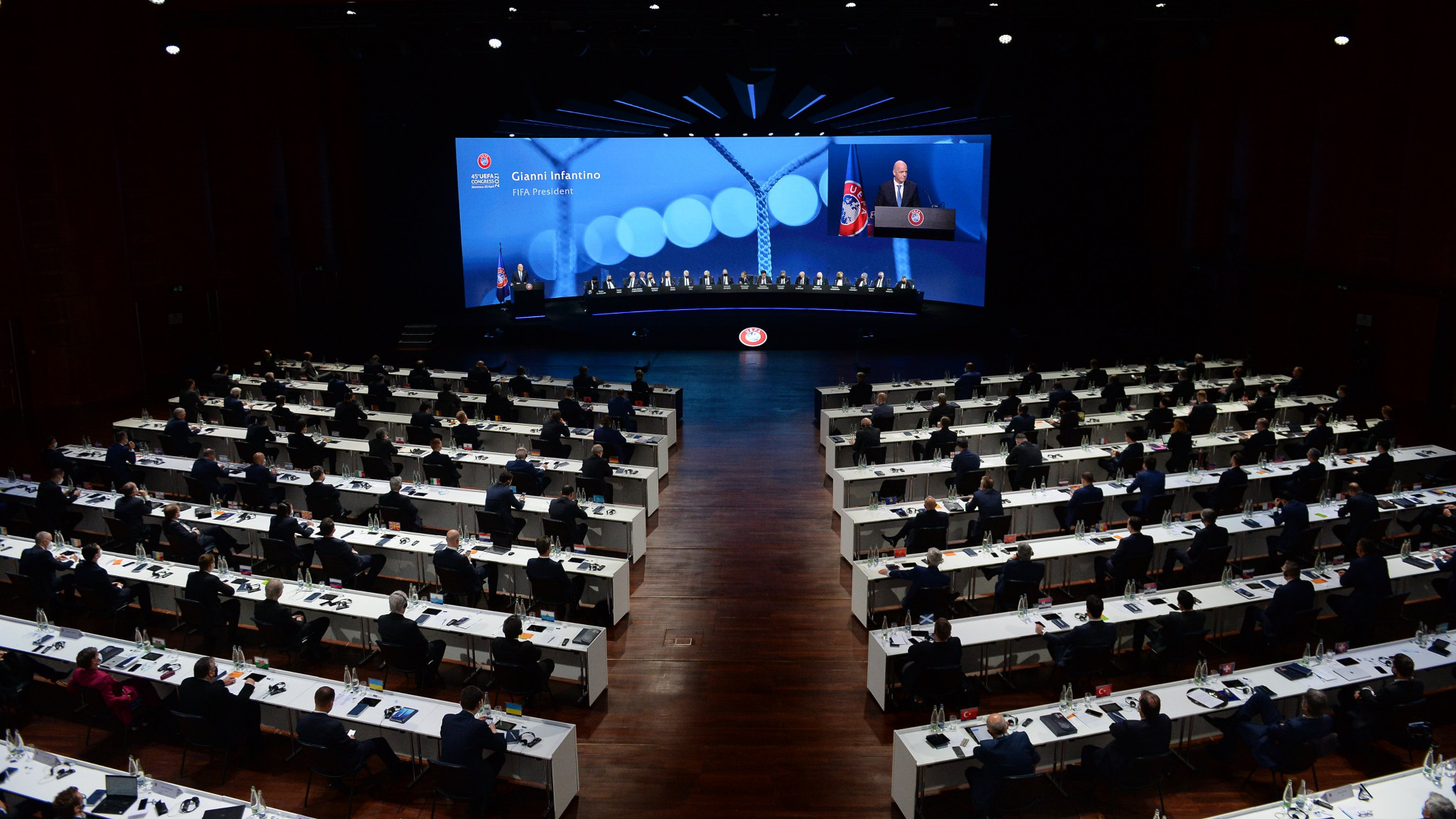 UEFA's Congress took place in Montreux today ©UEFA