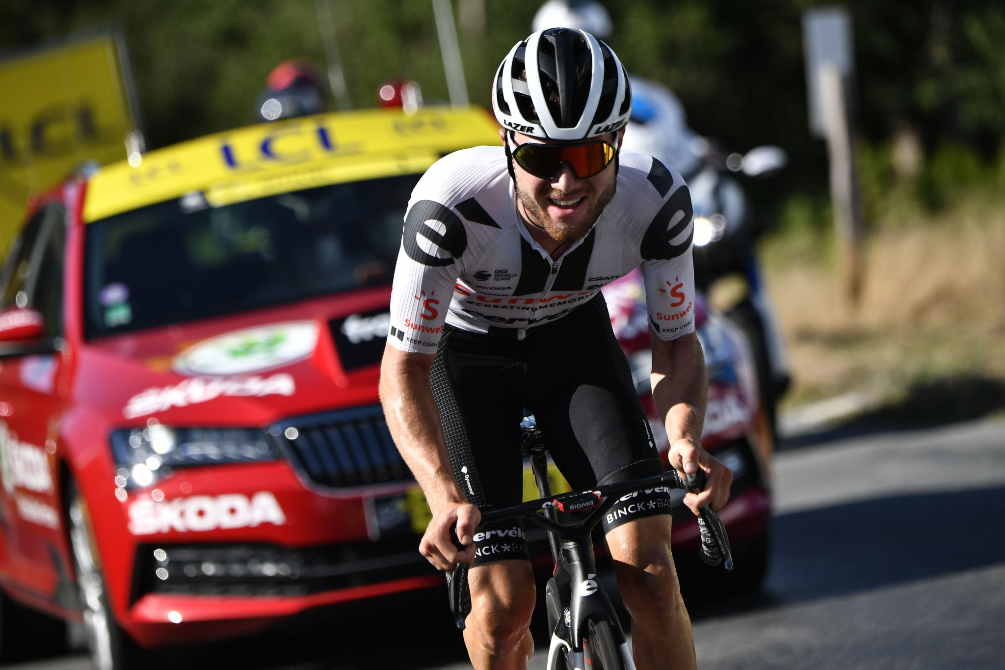 Defending champion Hirschi to face team mate Pogačar at La Flèche Wallonne