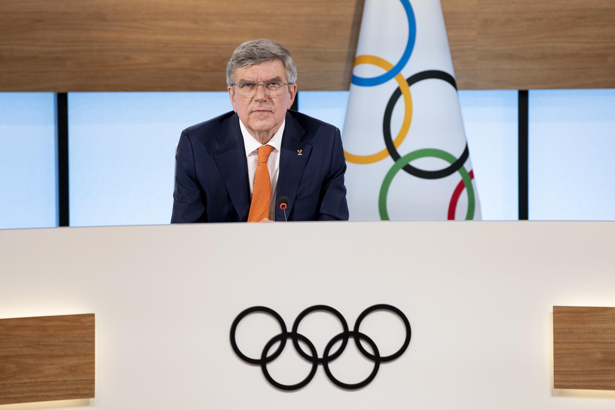 IOC President Thomas Bach will chair the meeting, to be held virtually due to the coronavirus pandemic ©IOC