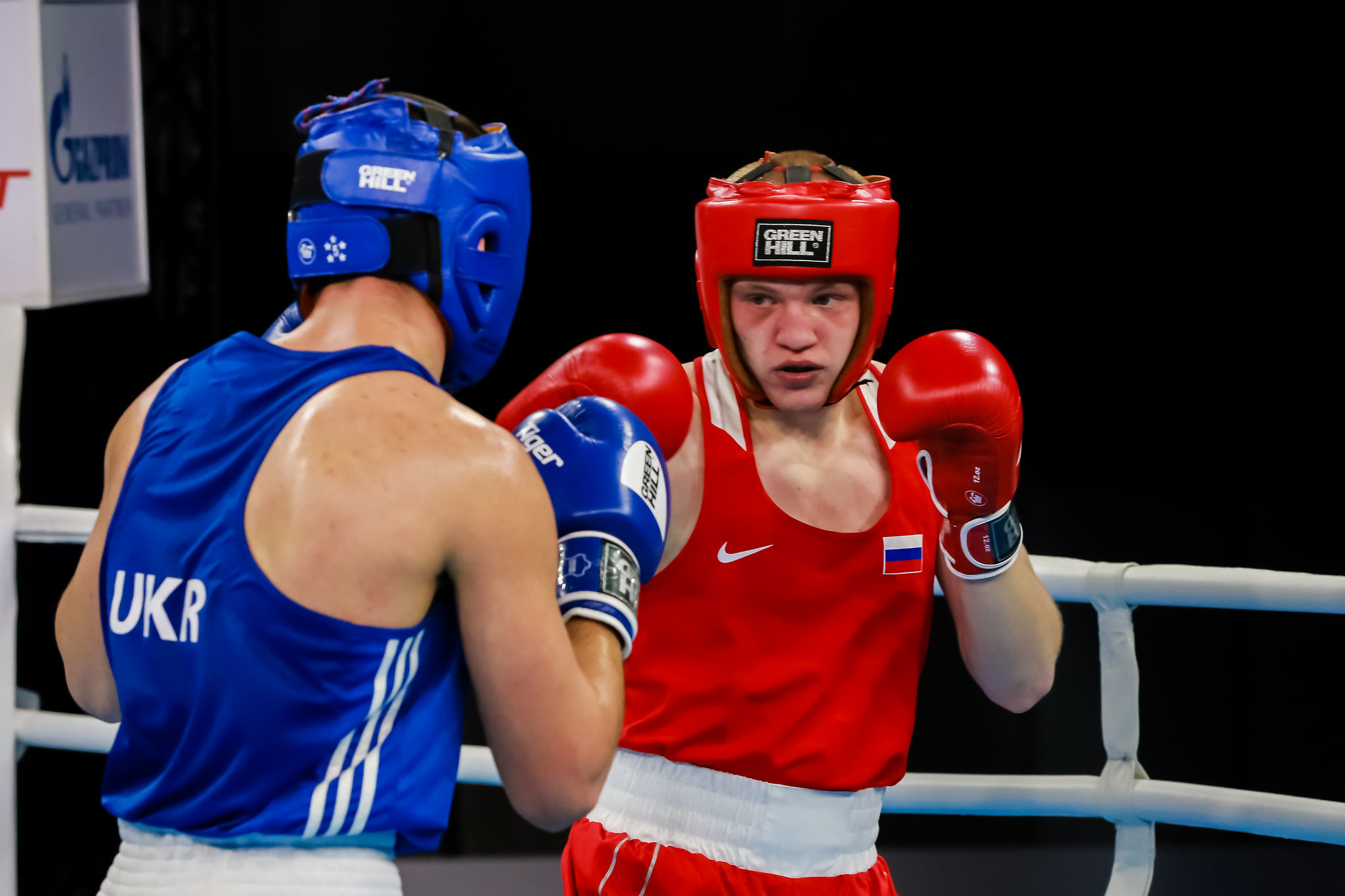 Vasily Kaverin was among eight Russians to reach a final ©AIBA