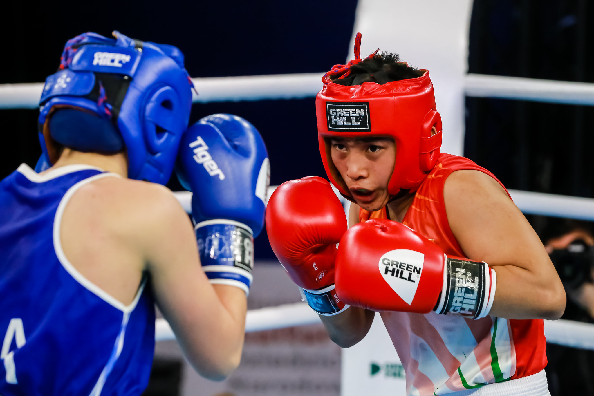 Babyrojisana Chanu was among them, with all seven Indian women's victorious today ©AIBA