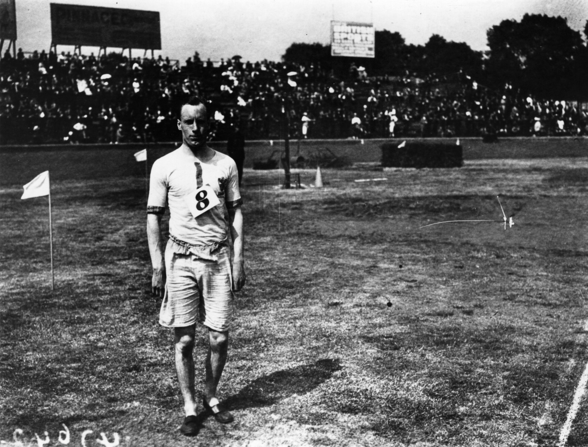 Eric Liddell, one of the runners immortalised in Chariots of Fire ©Getty Images