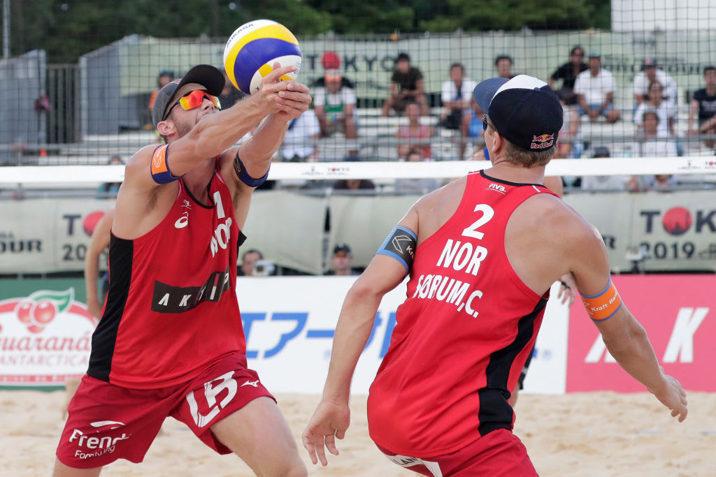 Anders Mol and Christian Sørum triumphed at the opening event of the FIVB Cancun Hub ©Getty Images