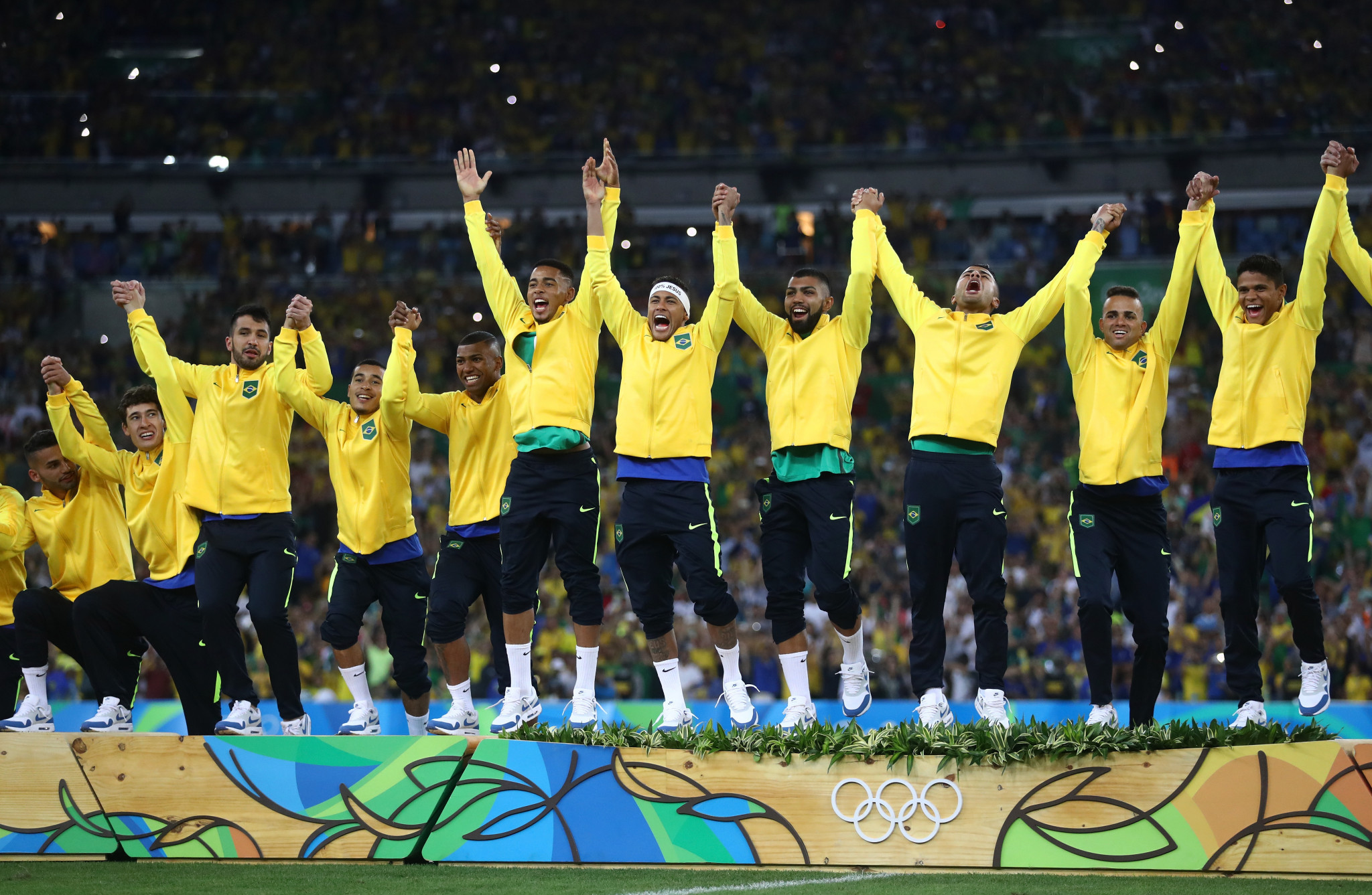 Brazil will begin their defence of their Olympic crown against Rio 2016 silver medallists Germany ©Getty Images