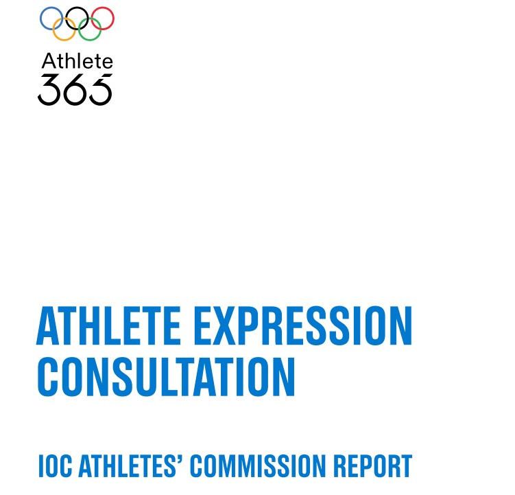 Exclusive: IOC Athletes' Commission recommend keeping podium protest ban but call for clarity on sanctions