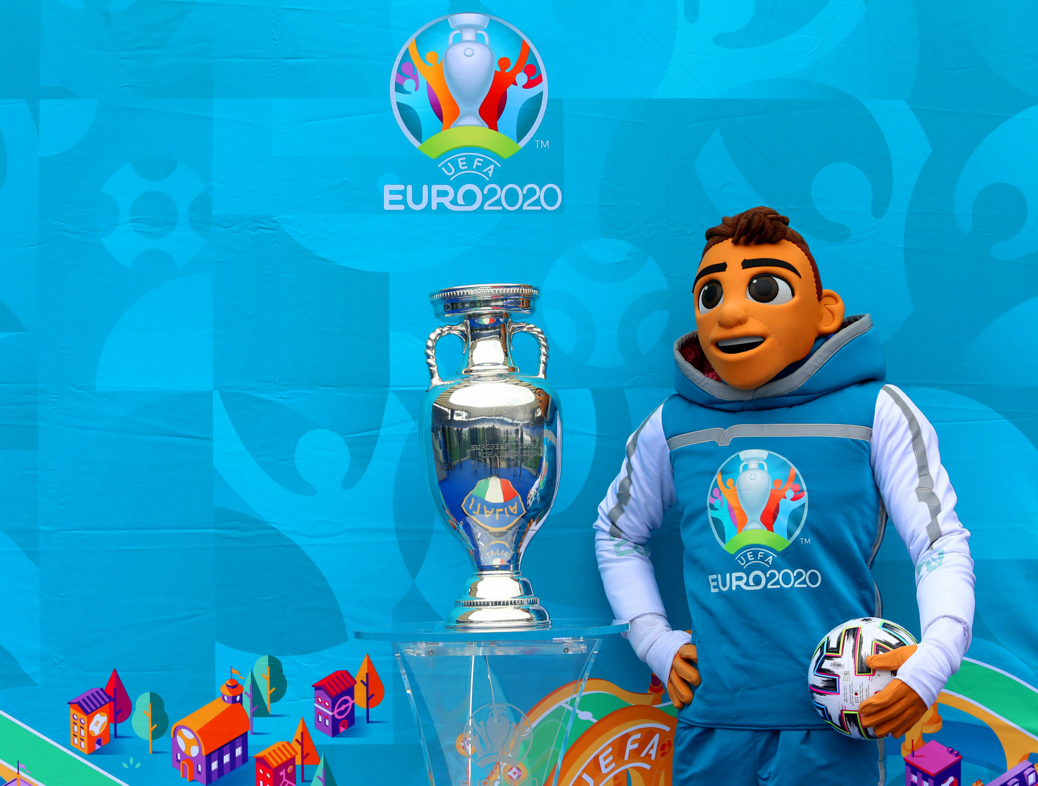 The postponement of Euro 2020 by a year has restricted the governing body's revenue ©Getty Images