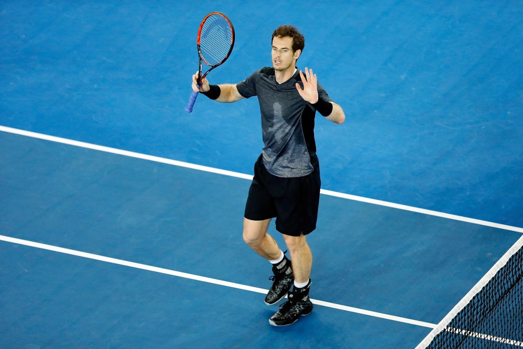 Murray battles through to Australian Open fourth round as father-in-law rushed to hospital