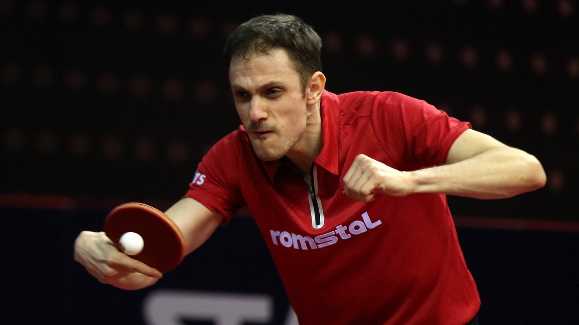 Romania's Ovidiu Ionescu suffered a shock defeat on the opening day of the ITTF's European Olympic Singles Qualification Tournament in Portugal ©ITTF