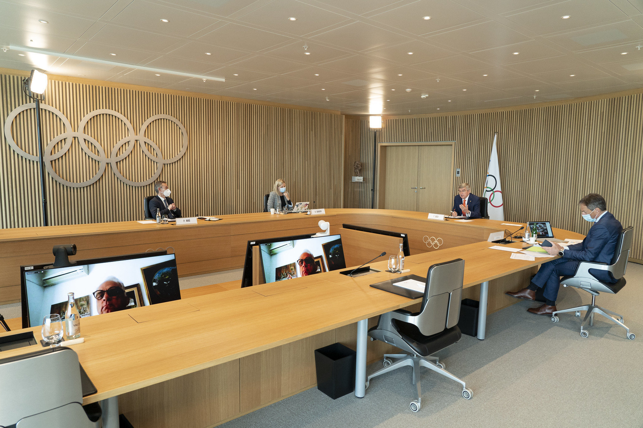 The IOC Executive Board endorsed the Olympic motto change proposed by Thomas Bach ©IOC