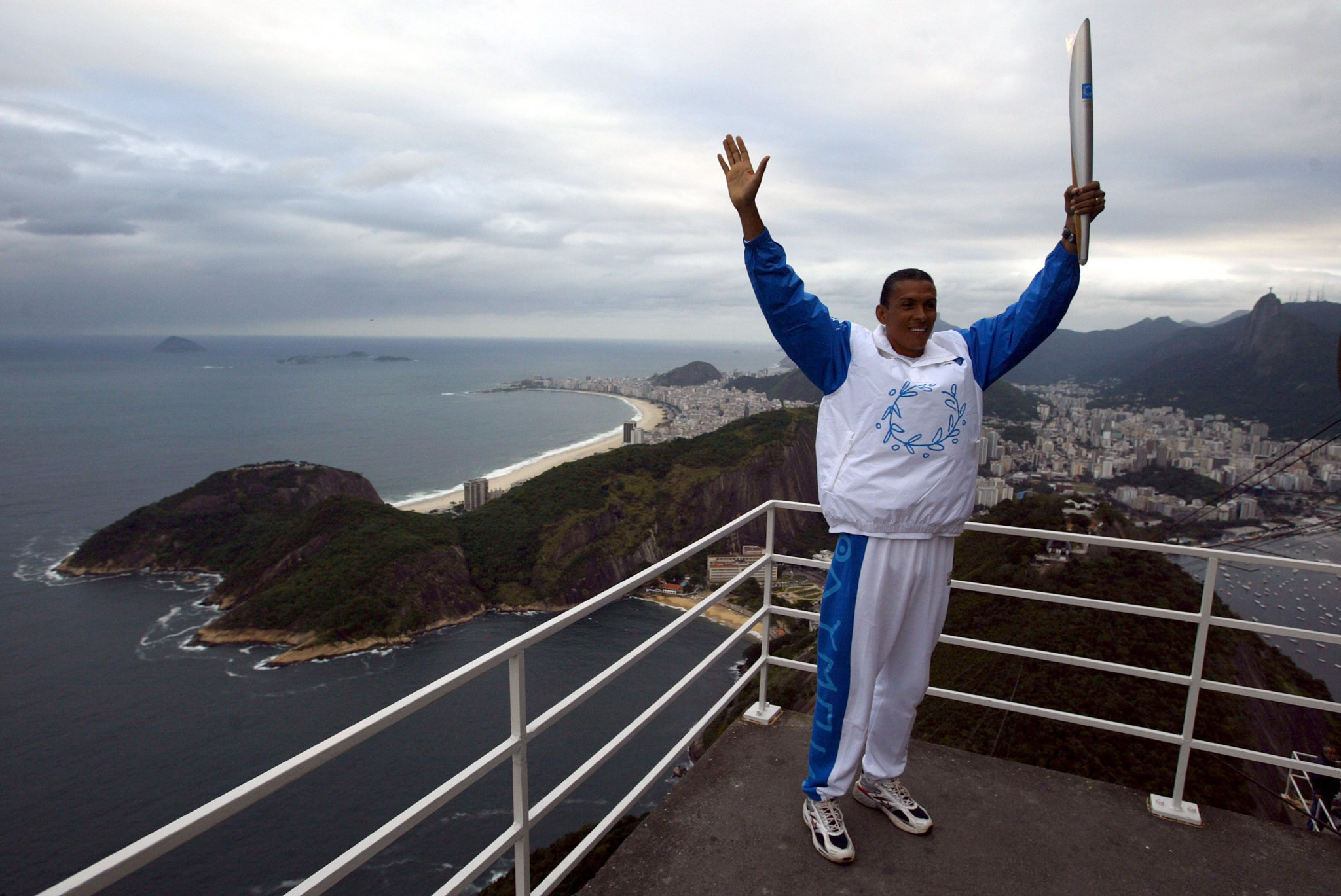 Joaquin Cruz emerged from the system in Brazil to win Olympic gold ©Getty Images
