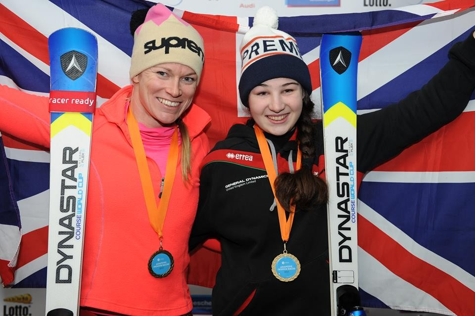 Fitzpatrick continues debut IPC Alpine Skiing World Cup with victory in St Moritz