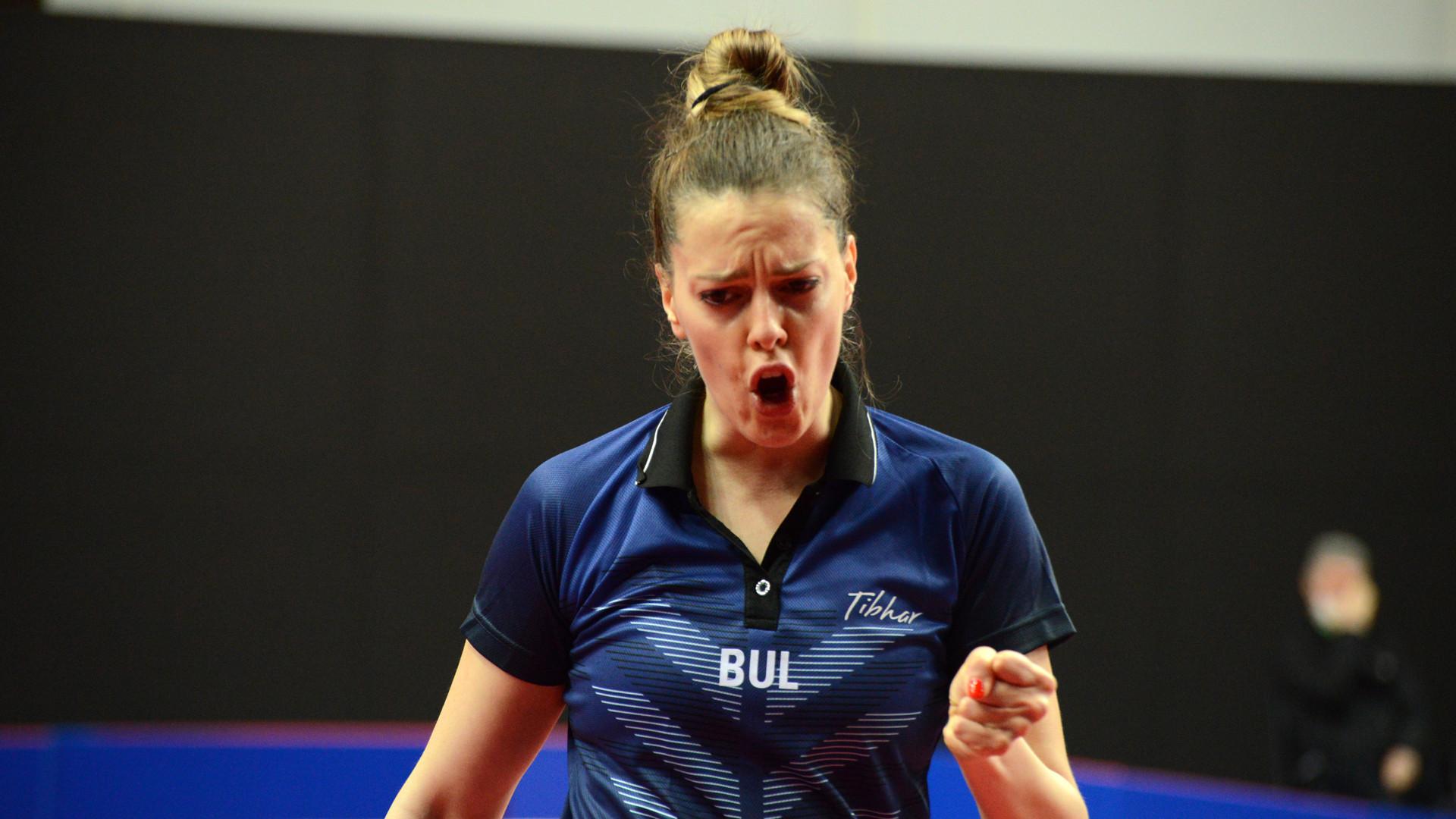 Trifona's surprise win keeps Tokyo 2020 dreams alive at ITTF European Qualifier