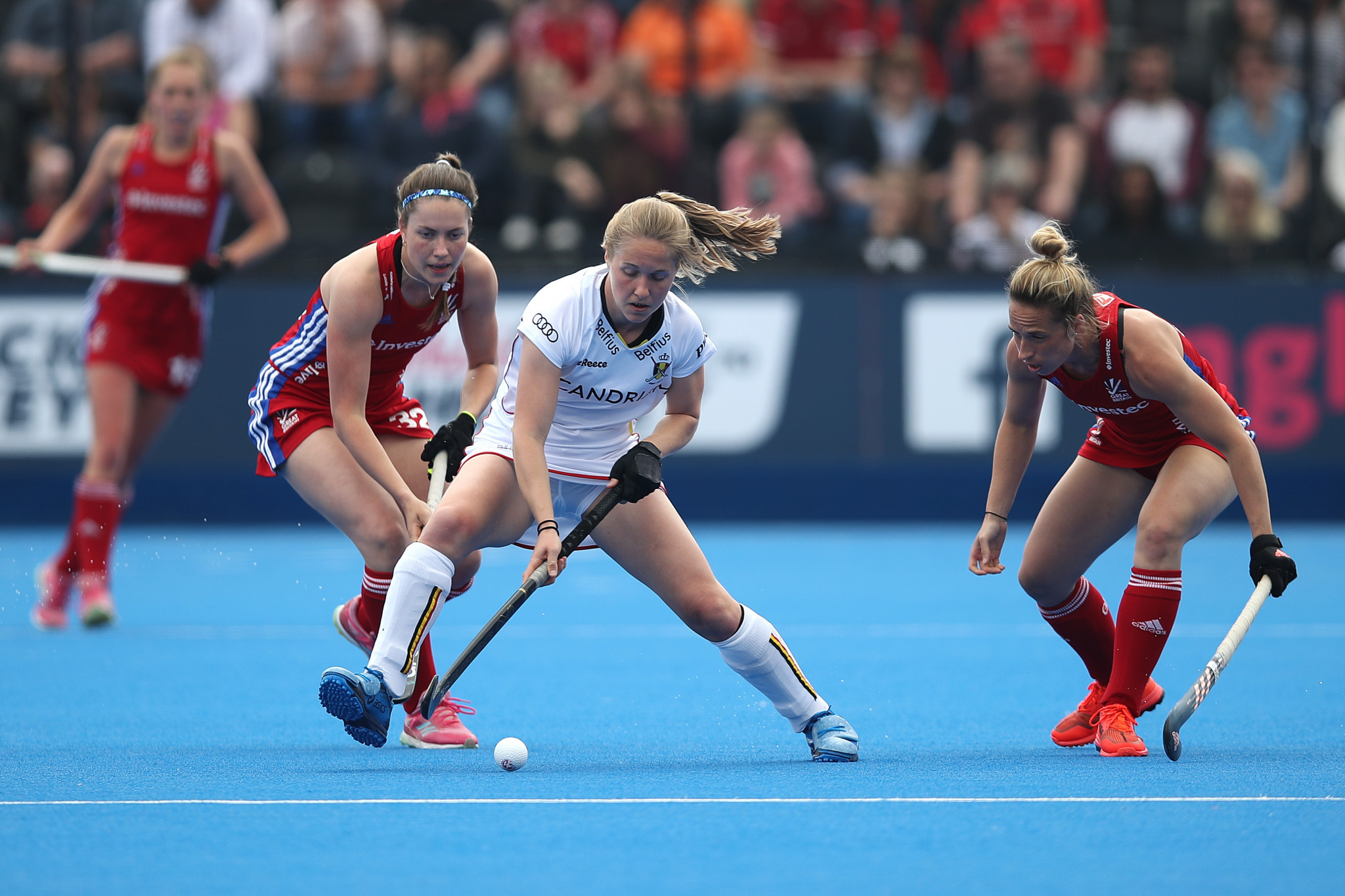 Belgium and Britain share victories in FIH Hockey Pro League