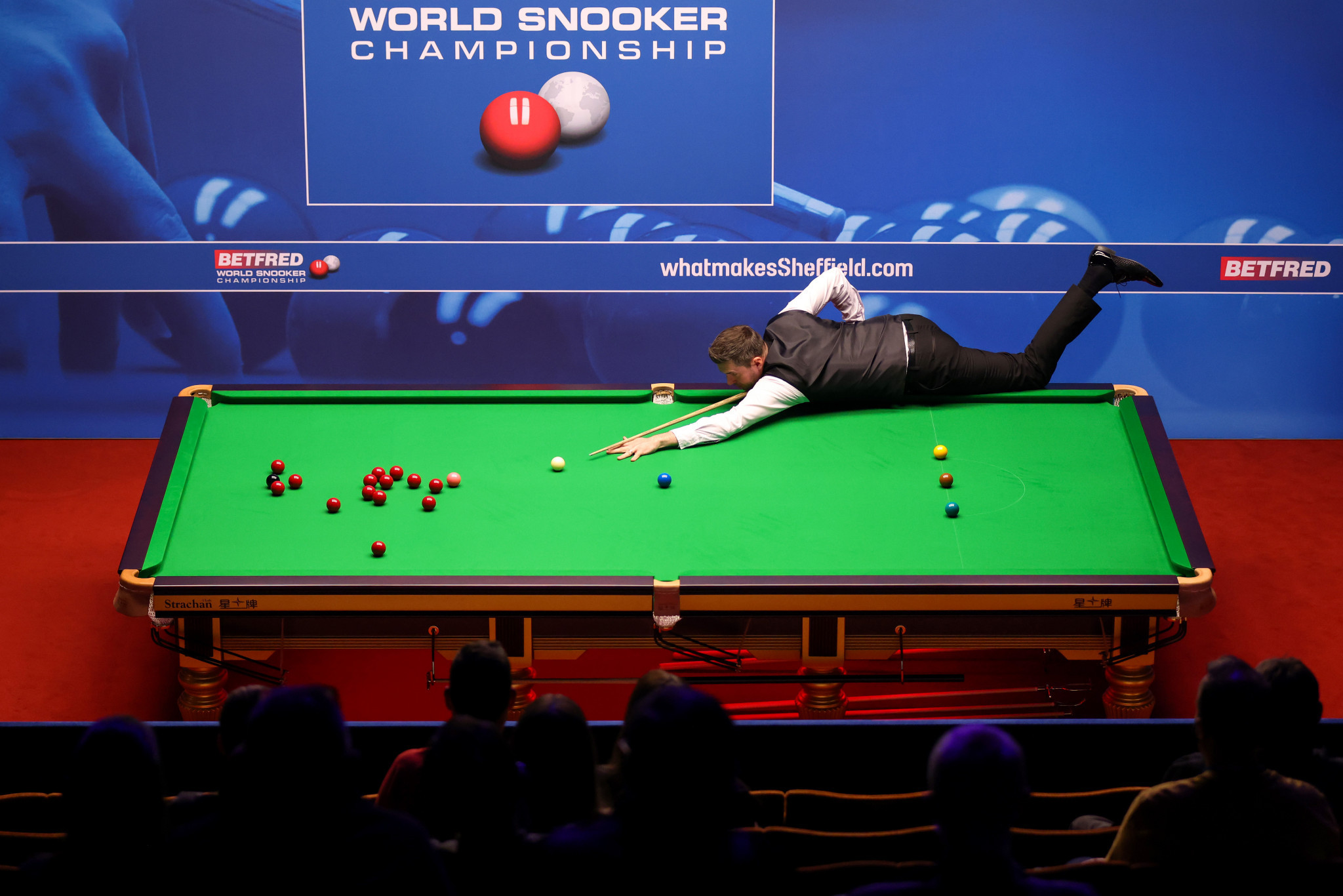 Three-time world champion Mark Selby said he was playing