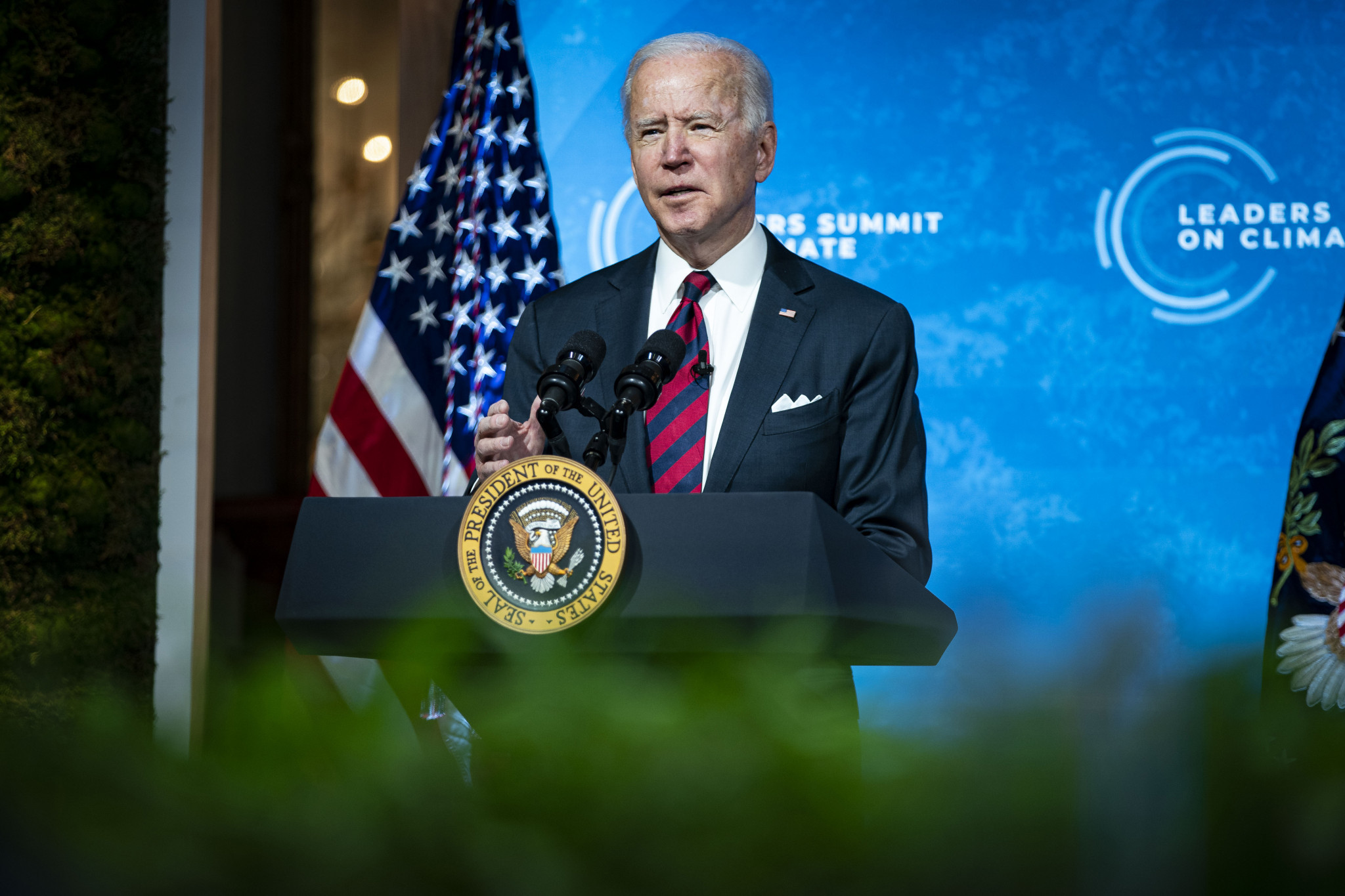 Joe Biden has been invited to attend the WBSC Americas Olympic Qualifier later this month ©Getty Images