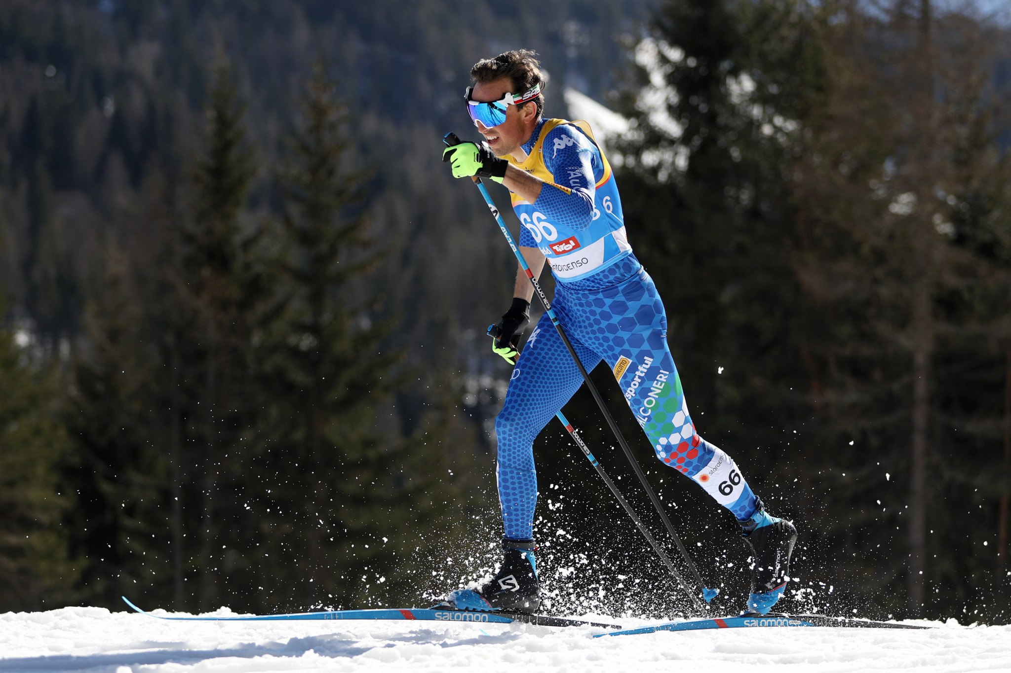 Francesco de Fabiani believes linking up with the Russian team will help him to develop as a cross-country skier ©Getty Images
