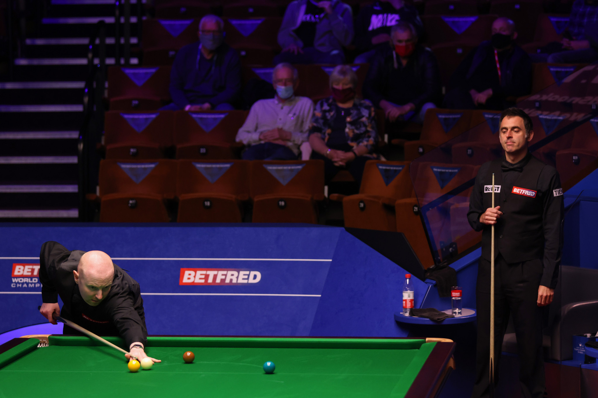 McGill knocks out defending champion O'Sullivan in dramatic decider at World Snooker Championship