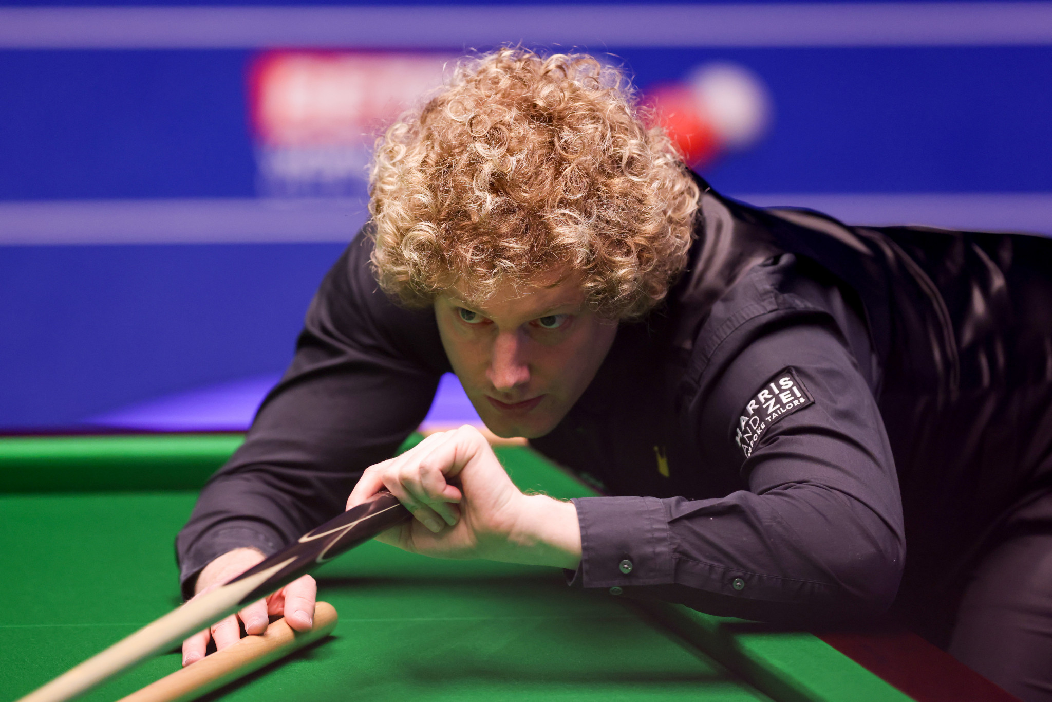 Australia's Neil Robertson leads England's Jack Lisowski 9-7 after two sessions of their World Snooker Championship second round match ©Getty Images
