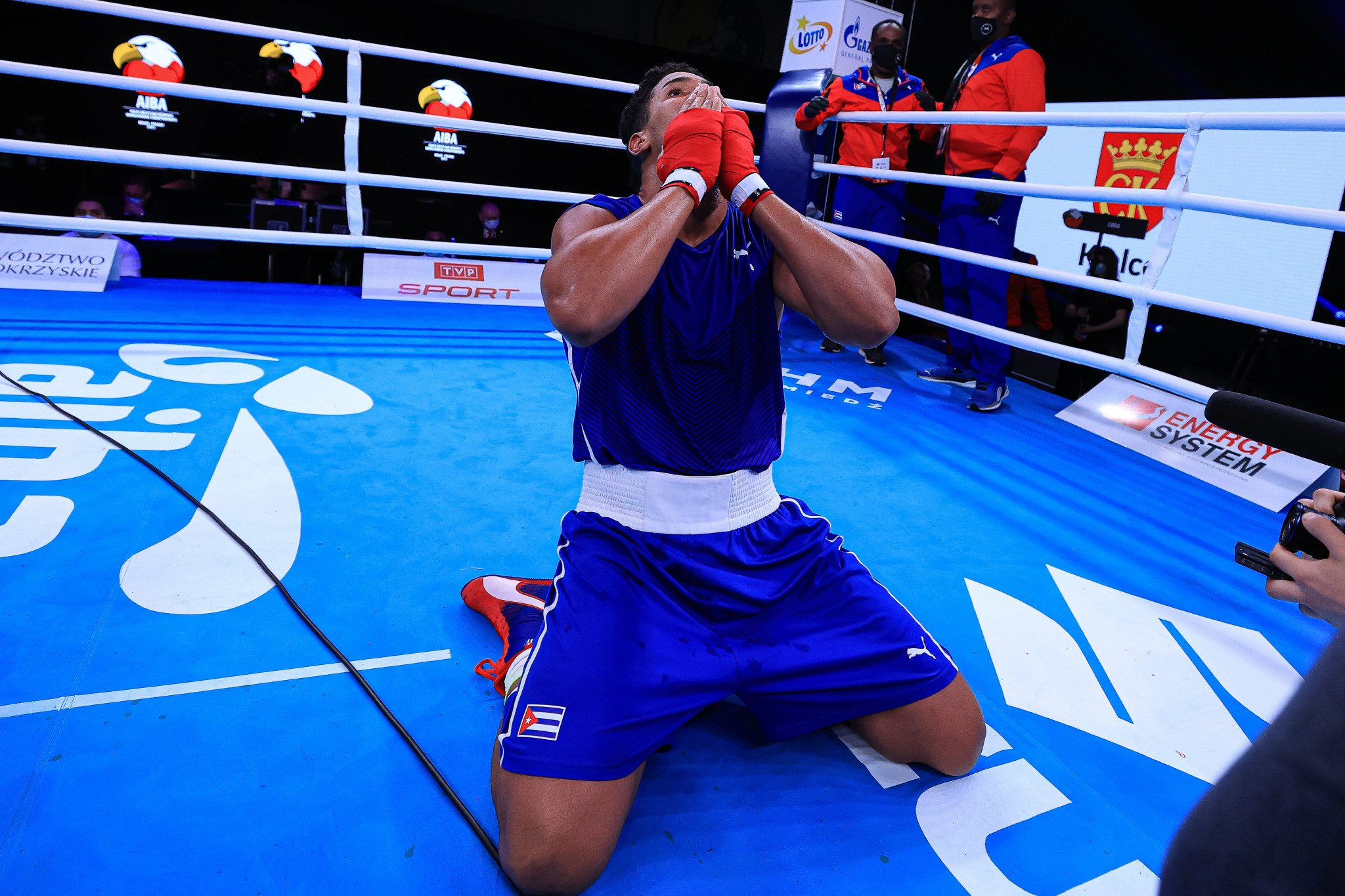 Ten finals took place on the final day of the AIBA Youth World Boxing Championships in Kielce ©AIBA
