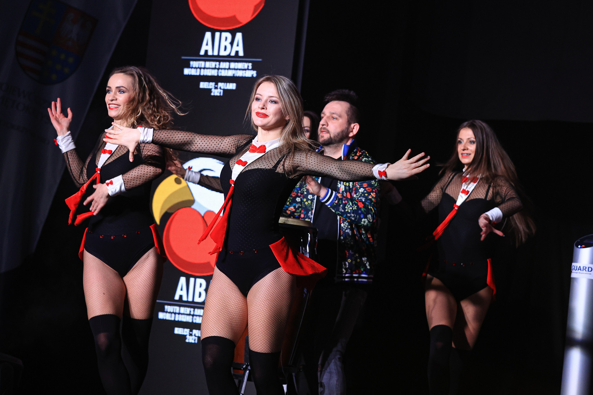 Musicians and dancers provided entertainment ahead of the day's fights ©AIBA