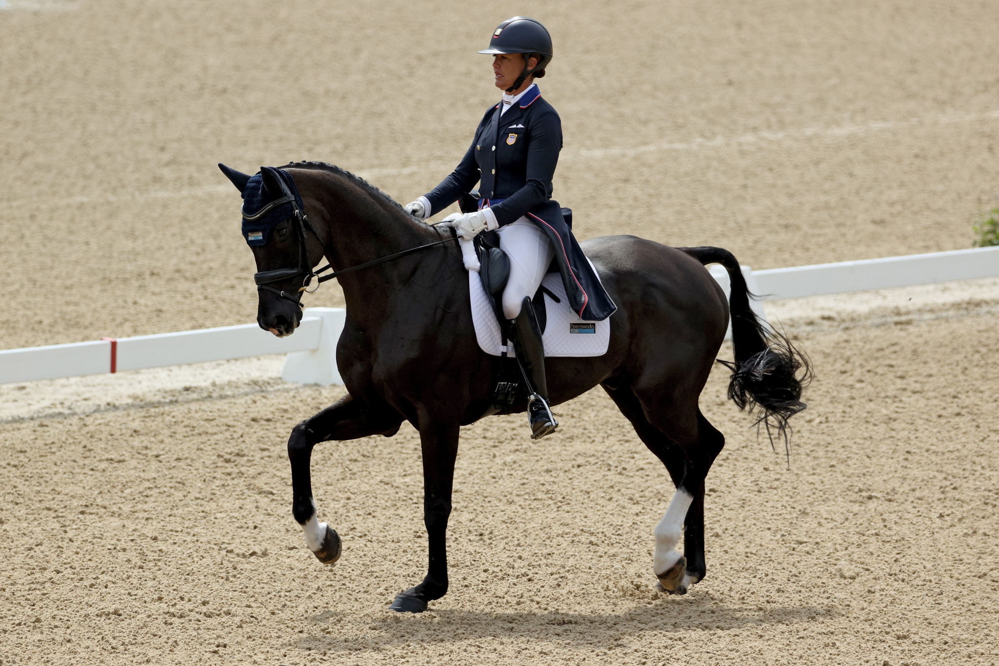 Smith dazzles in dressage to close gap on Little at Kentucky Three-Day Event