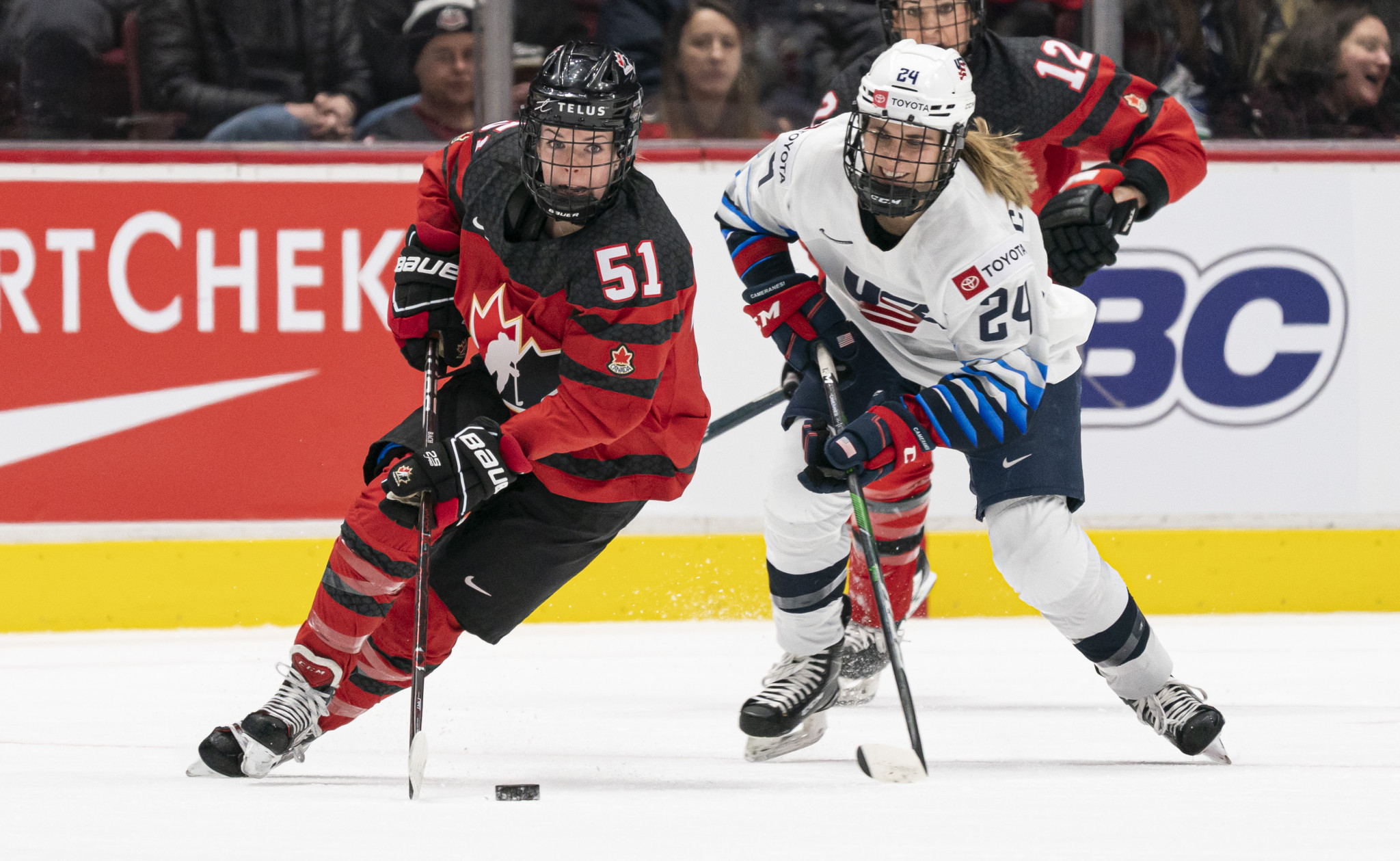 The IIHF and Hockey Canada are set to work together to find a new venue for the Women's World Championship ©Getty Images