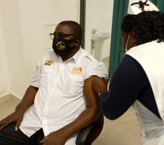 NOCZ President urges athletes to accept COVID-19 jab as Zambia begins vaccinating Tokyo 2020 team