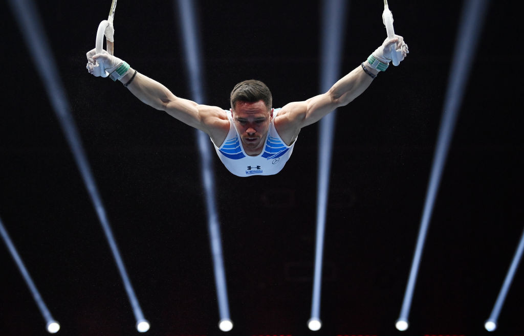 Five-star Petrounias claims rings title at European Artistic Gymnastics Championships