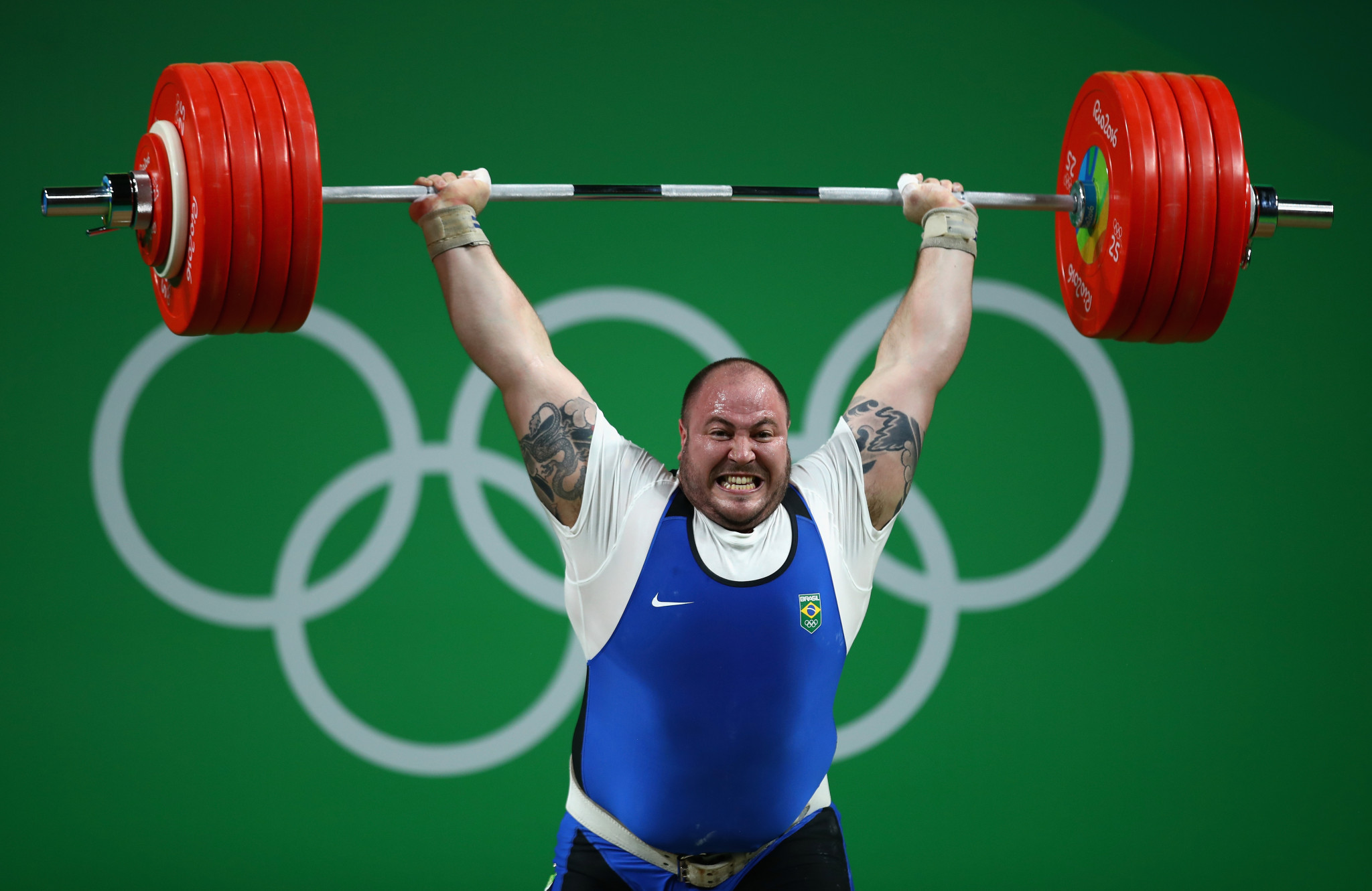 Fernando Reis won the men's super heavyweight category at the Pan American Championships in Santo Domingo ©Getty Images