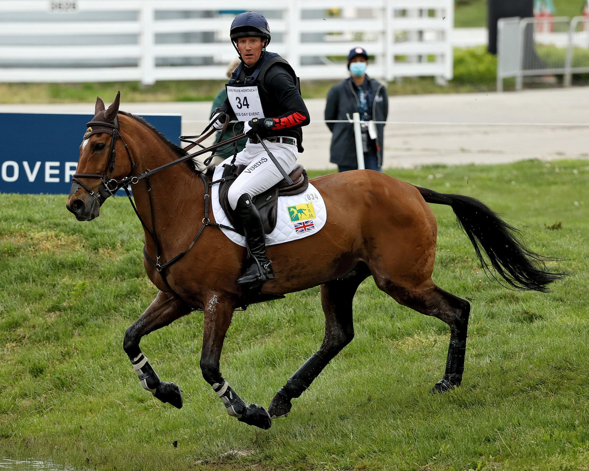 Townend stars in cross-country to take lead at Kentucky Three-Day Event