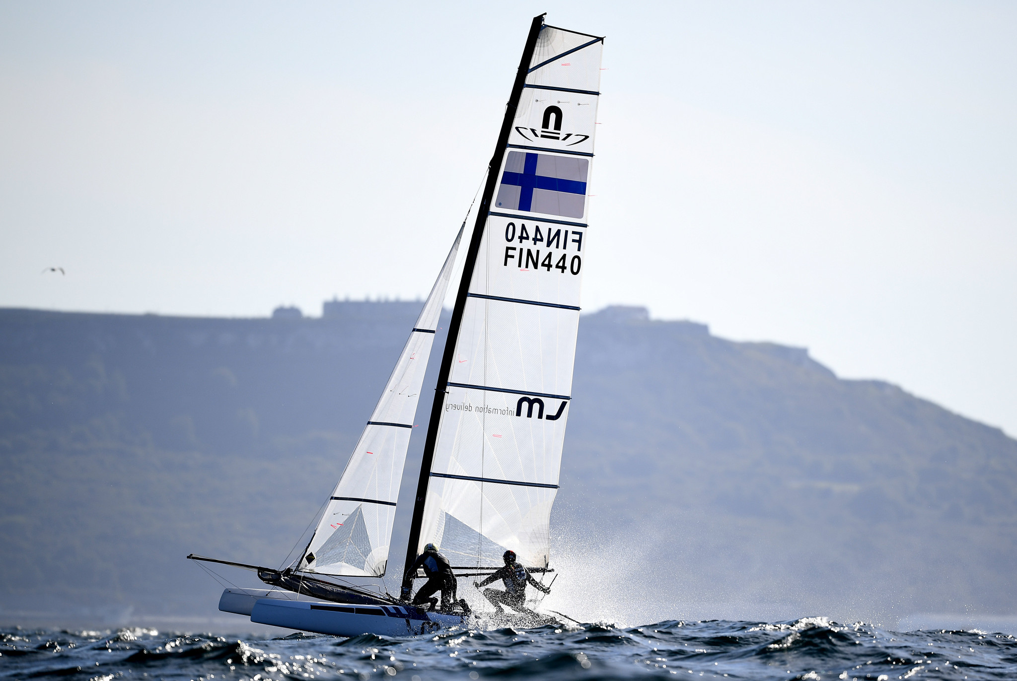 Sinem Kurtbay and Akseli Keskinen will represent Finland in the Nacra 17 event at the Games ©Getty Images