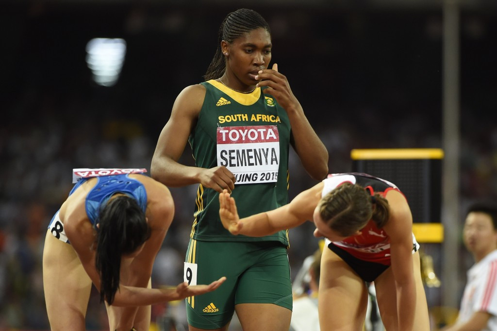 South Africa's Caster Semenya is one athlete to have been embroiled in a gender-row ©Getty Images