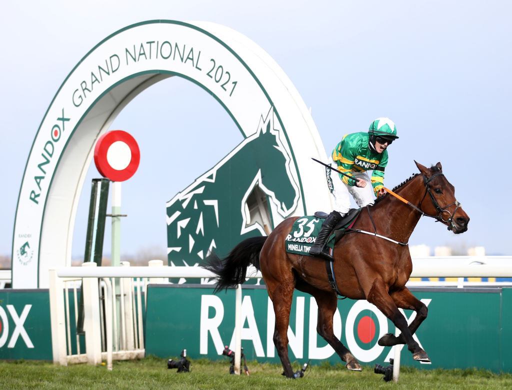 Rachael Blackmore, first female winner of the Grand National earlier this month, announced afterwards: