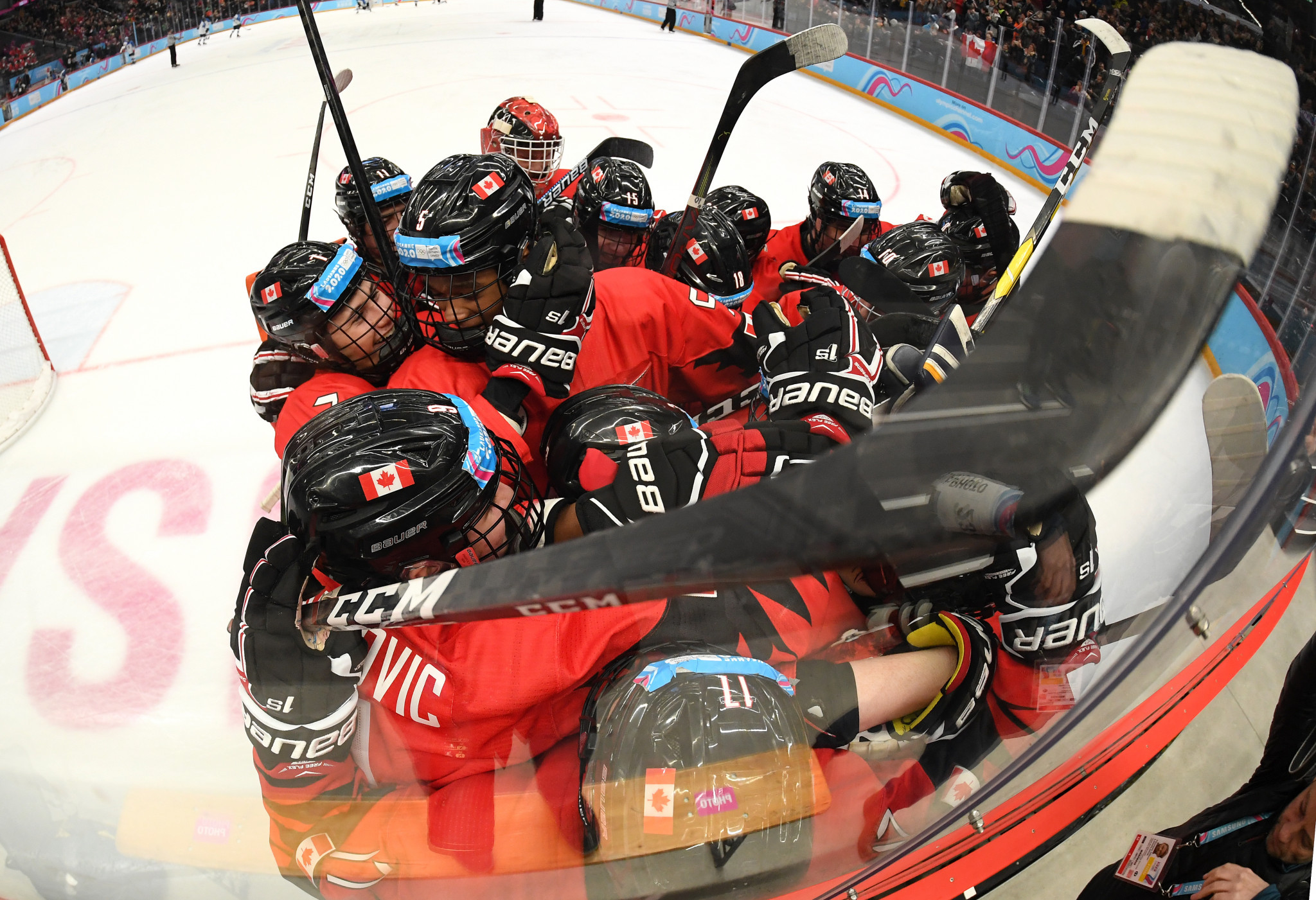 Canada are among the 10 teams set to complete for the under-18 world title in Texas ©Getty Images