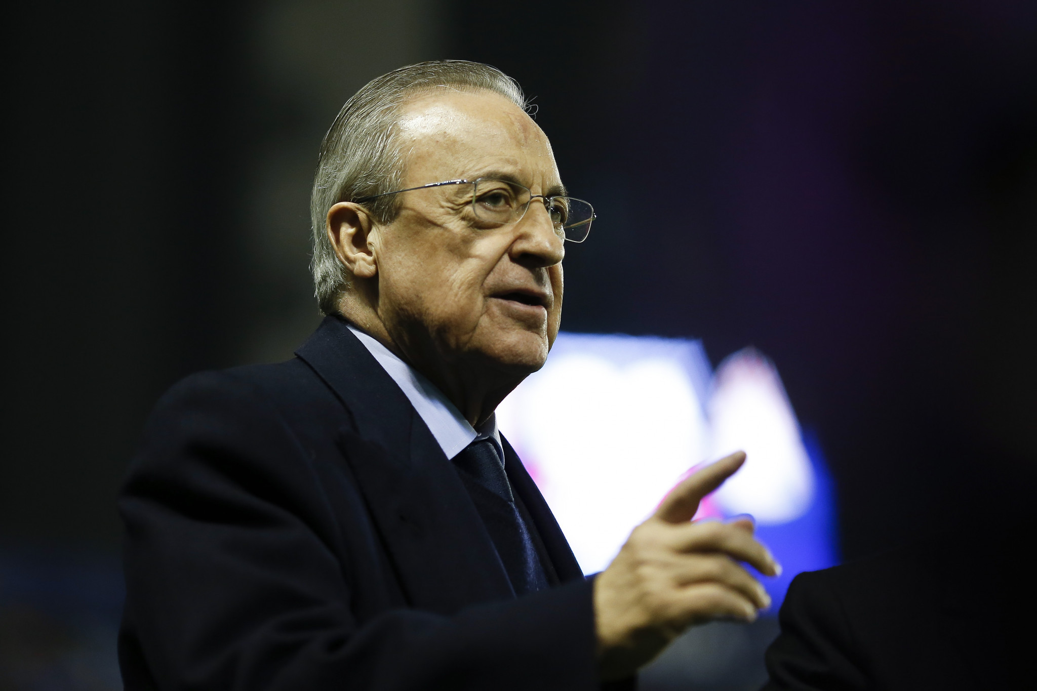 Florentino Perez questioned the oppostion to the Super League after the successful EuroLeague breakaway ©Getty Images