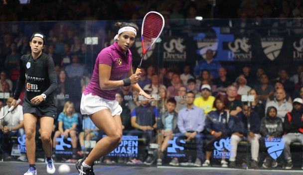 US Open Squash Championships scheduled for October